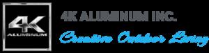 4k Aluminum Logo