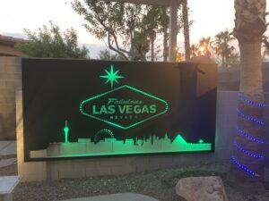 Las Vegas Sign - 4K Aluminum Inc