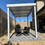 10x15-Gray-Square-Panel-4K Aluminum
