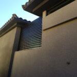 Burnette lattice privacy wall Las Vegas- 4K Aluminum Inc